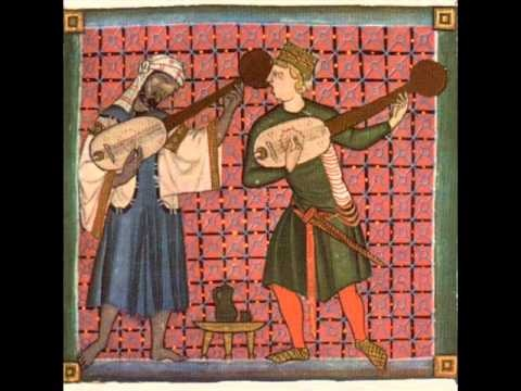 Spanish Medieval Music:   QUANTAS SABEDES AMAR AMIGO. Martín Codax (1270)