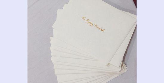 Pauleen Luna and Vic Sotto wedding invites all set #RagnarokConnection