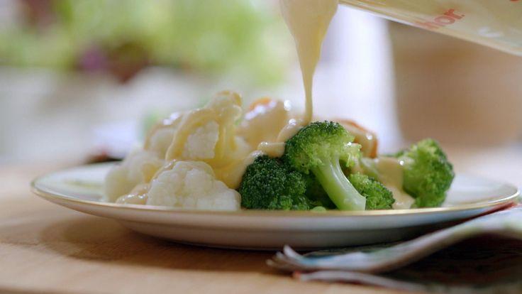 Sauce au fromage (pour apprivoiser le brocoli!)