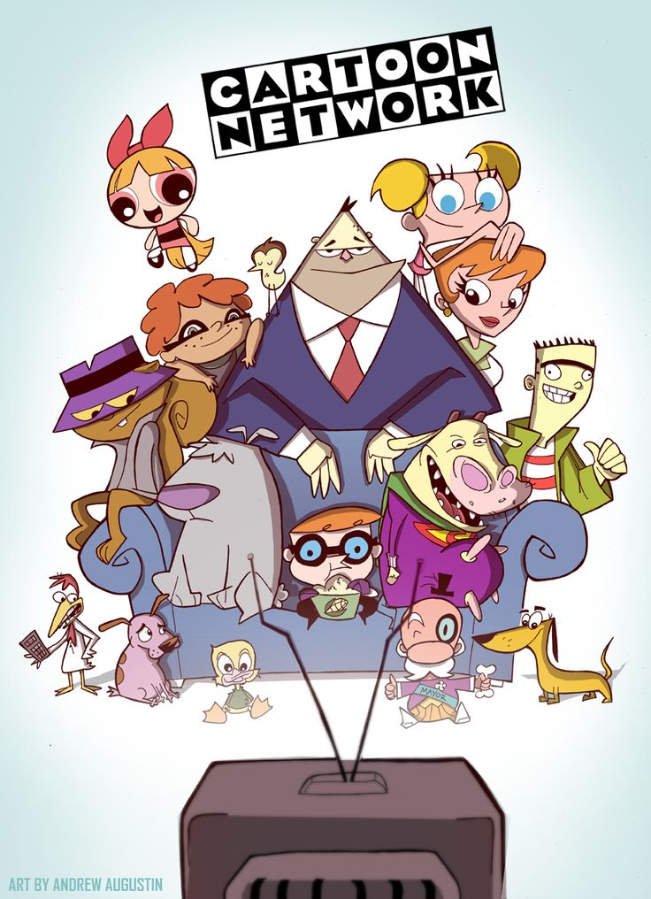 Cartoon Network 90s by DatBoiDrew.deviantart.com on @deviantART