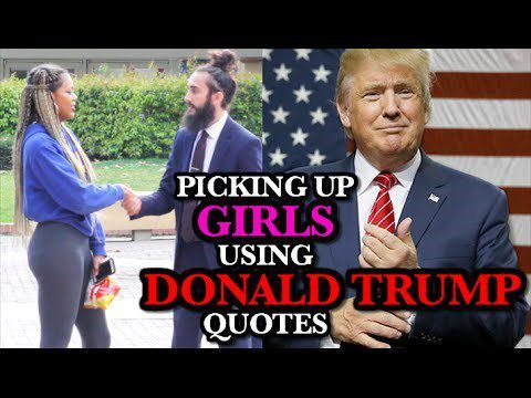 Would You Let a Dude With a Man Bun Pick You Up Using Donald Trump ...