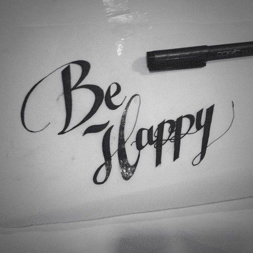 Be Happy <3 | via Facebook