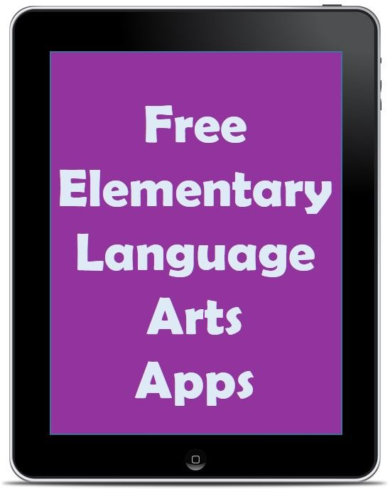 Free Elementary Language Arts Apps | Rachel K Tutoring Blog