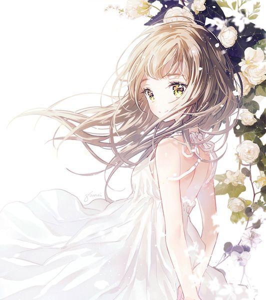 Artiste Gomzi Art Anime Fille Manga Kawaii Jolie Fille Anime