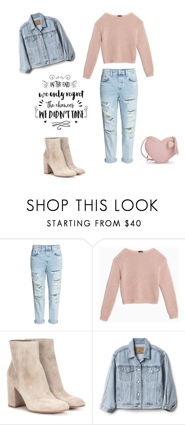 """Untitled #251"" by natalyholly on Polyvore featuring Max&Co., Gianvito Rossi and Gap"