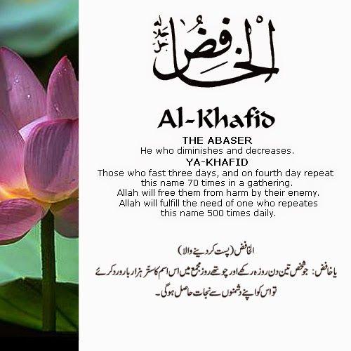 Islamic Day Name In Urdu