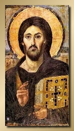 This one of the oldest Orthodox Icons known.  I have a copy in my home office | The 12 Apostles of the Catholic Church