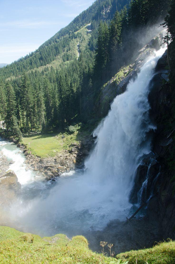Lower part of the Krimmler Wasserfälle