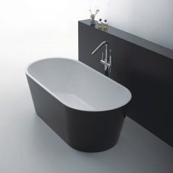 Celeste venedig badekar sort