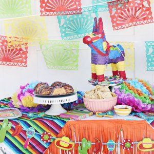 Our Family Friendly Fiesta is up on @orientaltrading #createfun. #linkinprofile We love all the fun details of this family party. From the decor to crafts...your family will love it too! #familyfiesta #fiesta #fiestadecor #fiestaparty #cincodemayo #cincodemayoparty #abmlifeiscolorful #abmlifeisbeautiful #abmhappylife