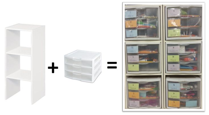 Student Storage Boxes SUPPLIES