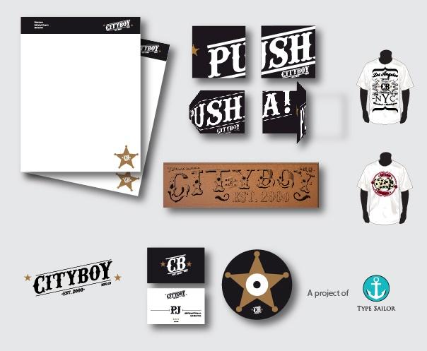 Stationery for Cityboy Pusha