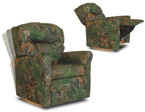 Contemporary Child Rocker Recliner Chair