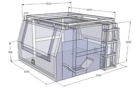 Diy ute canopy google search custom truck beds for Build your own canopy frame