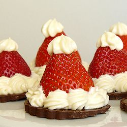 Who knew strawberries could be so festive?