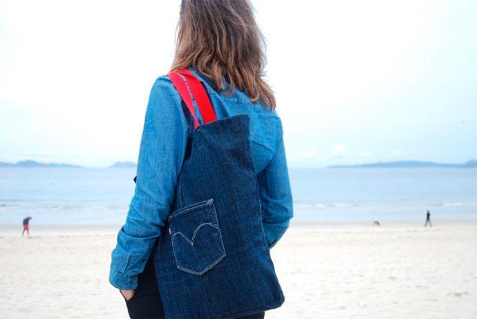 2nd Funniest Thing : Tutoriales, talleres DIY y reciclaje ninja: DIY colaborador: From jeans to bag