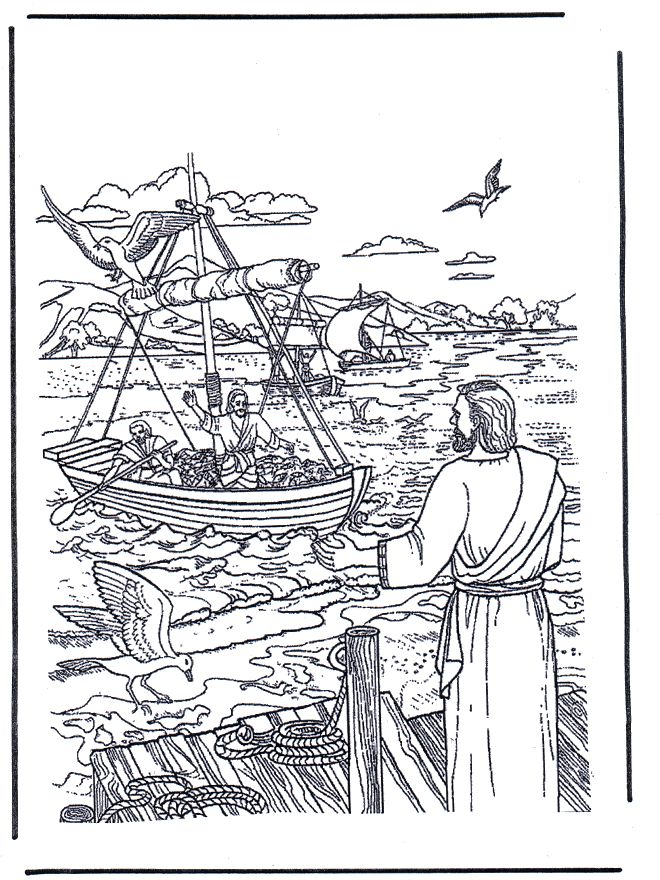 Free printable Bible coloring pages-- these images aren't