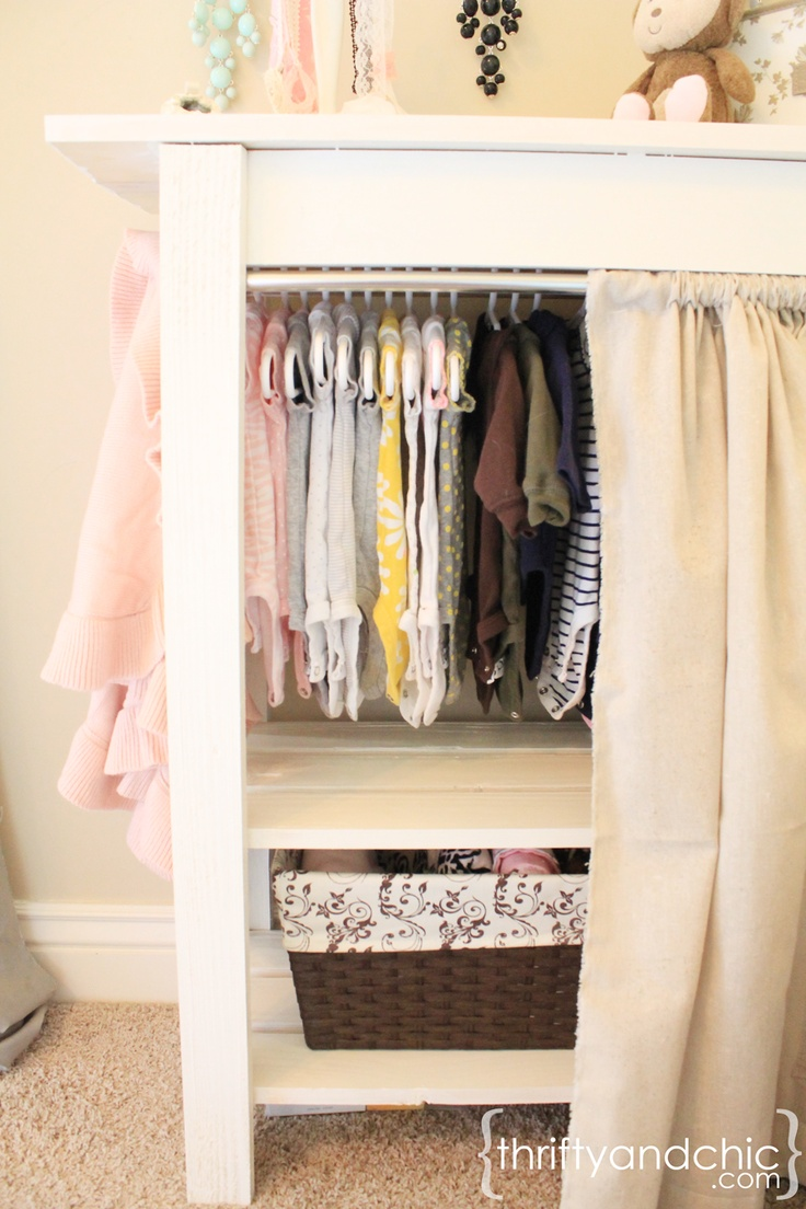 Customizable Storage Table..or Closet. Small ClosetsBaby ClosetsBaby Girl  ClosetDress Up ...