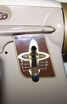Comparing stitch lengths on vintage and modern sewing machines from Spare Time for Sewing