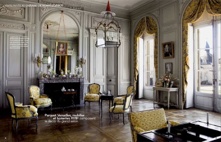 decór du grand salon XVIIIe