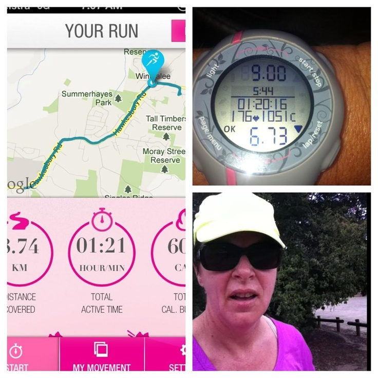 @77Noni: Day 5 for Friday completed 9km long slow run SSS on a weekday 1051 cals gone!
