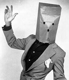 The Unknown Comic is the stage name of Canadian actor and stand-up comic Murray Langston (born 1945, Dartmouth, Nova Scotia, Canada), best known for his comic performances on The Gong Show, usually appearing with a paper bag over his head. Langston lives in Bathurst, New Brunswick, Canada.