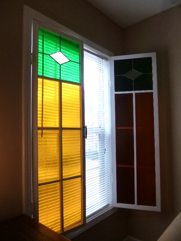 Architectural Shutters Stained Gl Designs In Provide Privacy Daylight And A Ful Design Splash