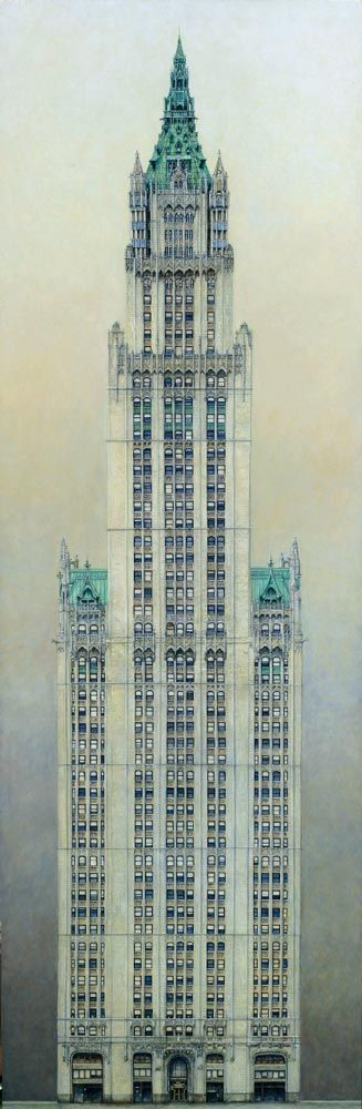 Karl Goldammer - Woolworth Building - once the tallest building in the world