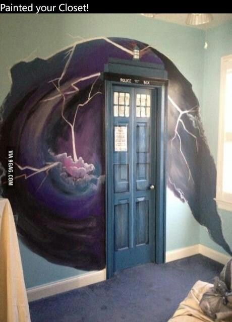 Doctor Who Bedroom Door Part 20