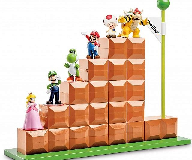 Give your game room some old school flair by decorating it with this Super Mario…
