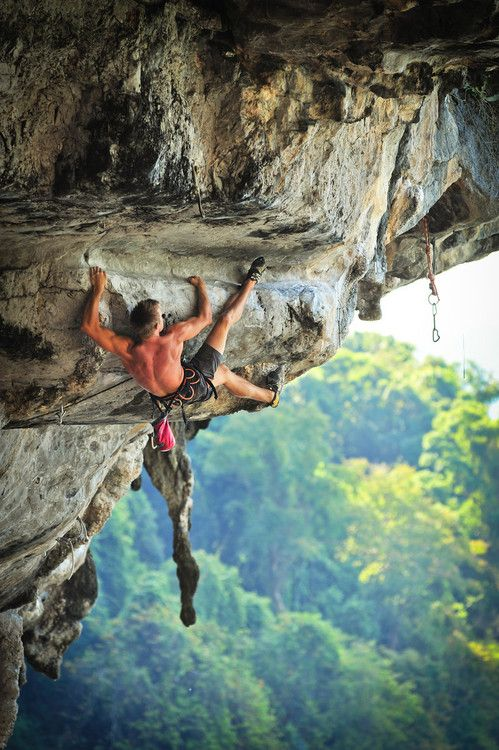 Tantrum 8a+ (5.13c) @ Tonsai Roof, Tonsai Climber: David Bone Photo: Elodie Saracco #escalada