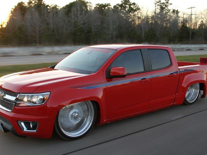 2015 Chevy Colorado - Red Devil