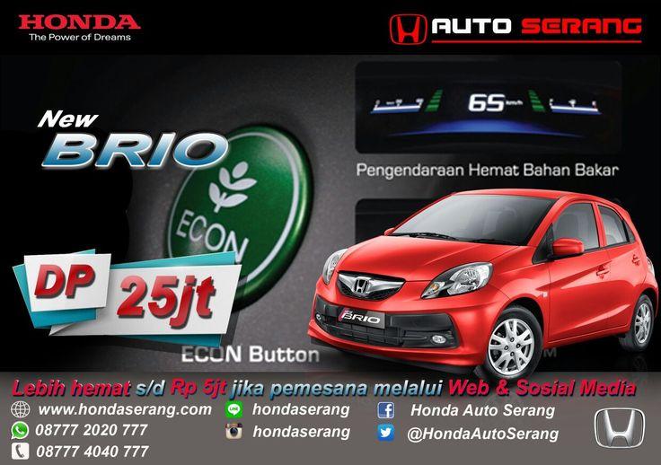 Dealer Honda Auto Serang | M. Erwin Hidayat: Hemat s/d Rp.5juta