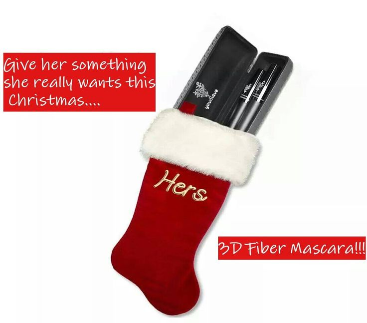 Younique's 3D mascara is the perfect stocking stuffer!!!! Only $35.