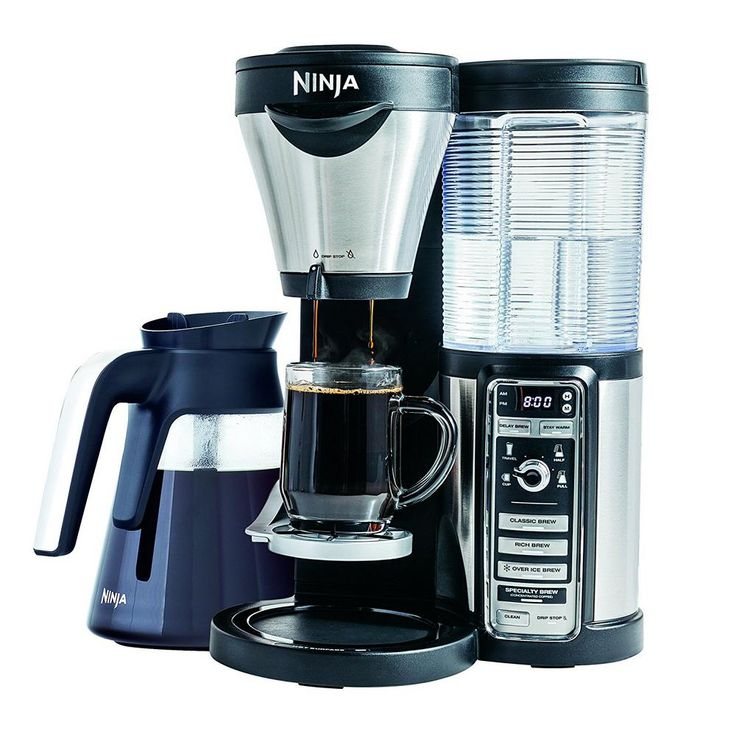 One Touch Coffee Maker, Stainless