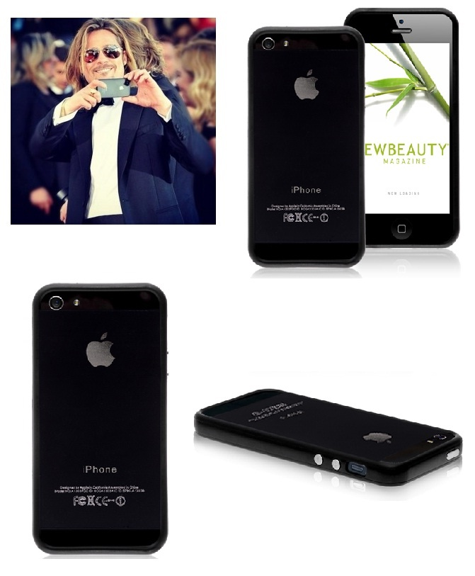 iPhone 5 Black Bumper Cases - Brad Pitt Pinspiration Case #Brad #Pitt #iPhone5 #Black #Case #Pinspiration $3.49