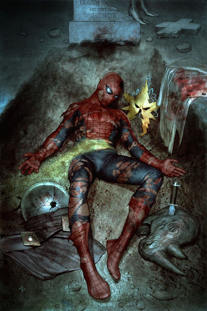 Amazing Spider-Man #612 Granov variant - Comic Art   GeekDraw