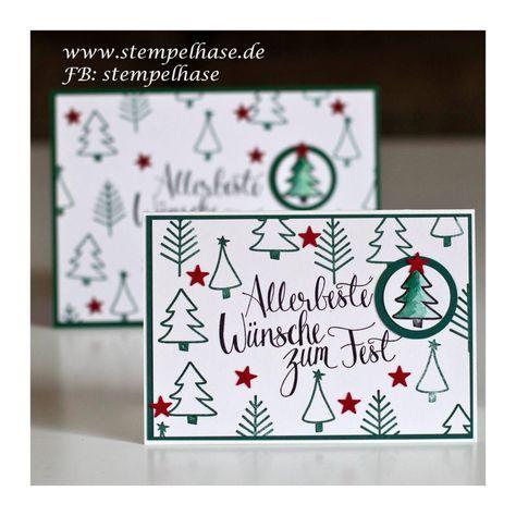 Malerische Weihnachten mit einer DIY Weihnachtskarte – Bettina märkl