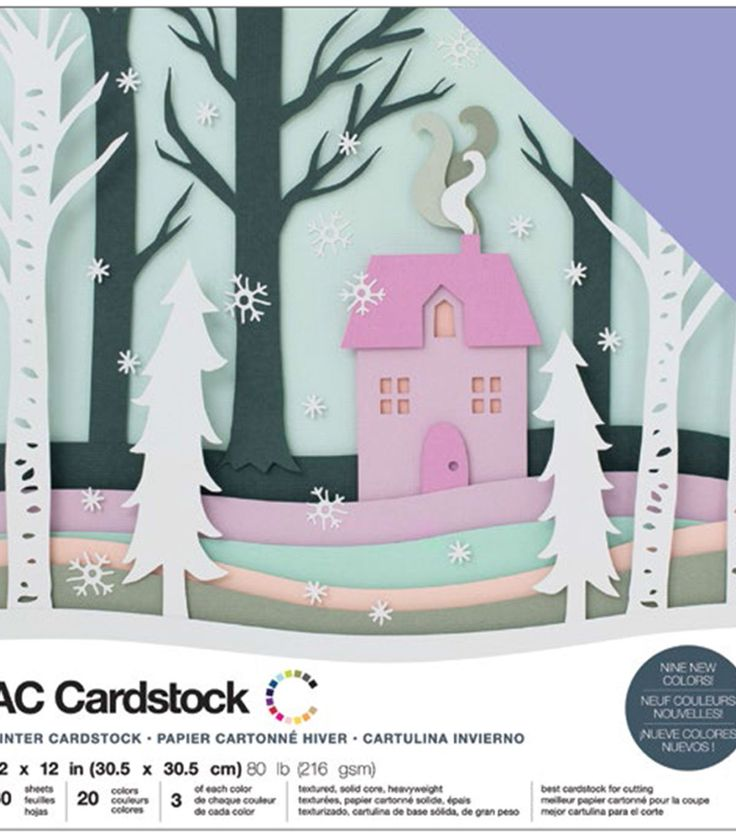 """60 Sheets American Crafts 12/"""" x 12/"""" Jewel Tone Design Textured Cardstock Pack"""