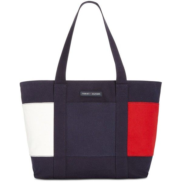 Tommy Hilfiger Th Flag Extra-Large Tote ($54) ❤ liked on Polyvore featuring bags, handbags, tote bags, navy, canvas tote, handbags tote bags, tote purses, tote hand bags and canvas tote bag