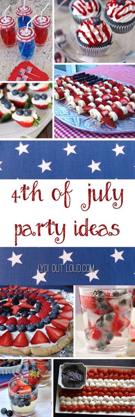 4th july dinner party ideas