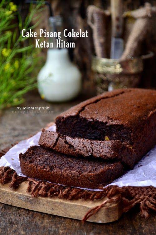 Cake Pisang Cokelat Ketan Hitam