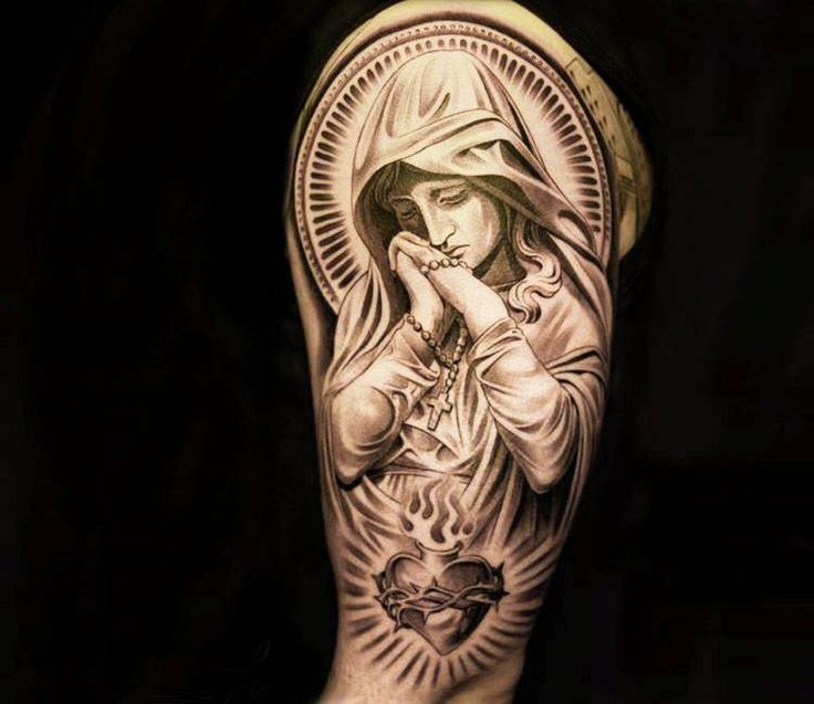 101 Amazing Virgin Mary Tattoo Ideas That Will Blow Your