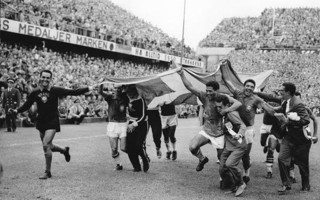 One: Sweden 1958. | Community Post: 19 Facts About Brazil's World Cup Soccer Team