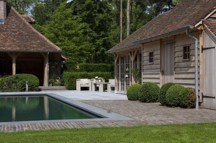 Belgian pool house
