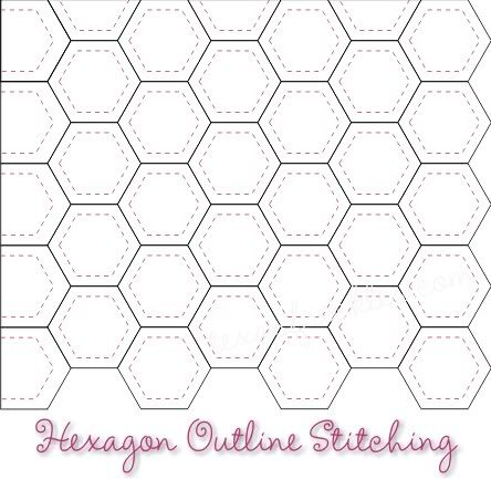 Best Hexies Images On   Hexagons English Paper