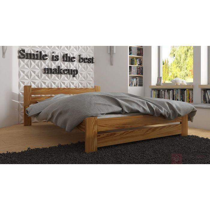 Łóżko drewniane MONIKA (Dąb)