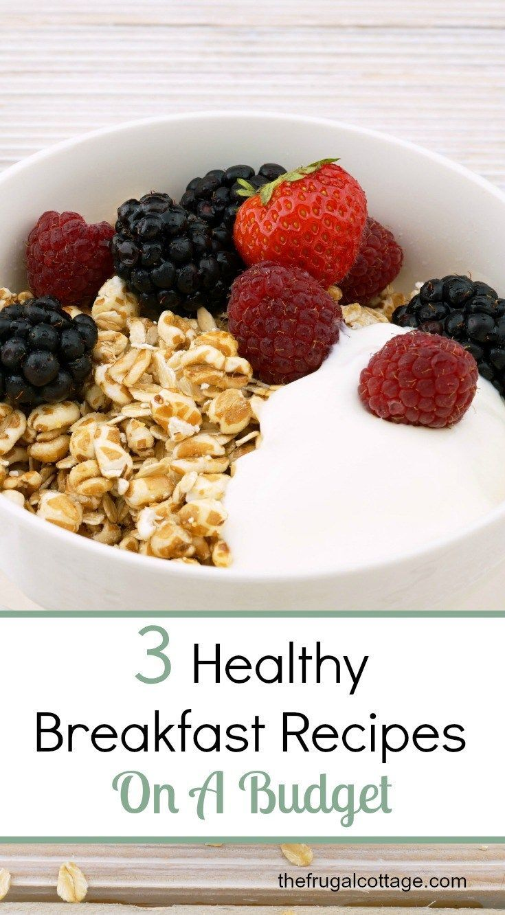 Looking for some healthy budget breakfast recipes? Here are 3 of my favourites!