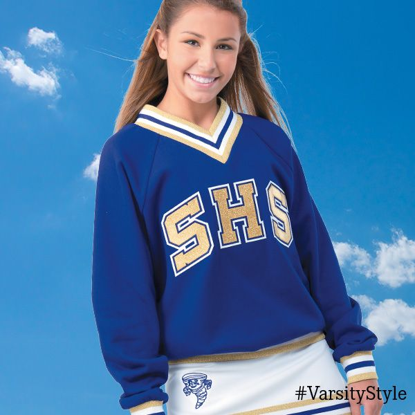 Keep warm and look unified with the fully customize-able Warm-up Top from Varsity Spirit Fashion.    #VarsityFashion http://Varsity.com
