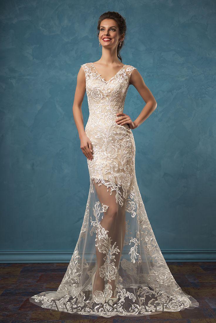 Wedding Dress Olivia, Silhouette: Sheath / Mermaid